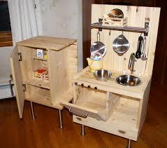... Kitchen, Amusing Wooden Childrens Kitchen Set Play Kitchen Toys R Us  Brown Woods Childrens Kitchen ...