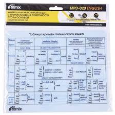 Купить <b>Коврик Ritmix MPD-020</b> english по низкой цене с ...