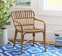 Cannes Woven Rattan Chair Pottery Barn Rattan Chair R88