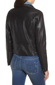 blanknyc the cool kid faux leather moto jacket front zip closure jtbpsbx