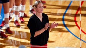 Penn volleyball head coach Katie Schumacher-Cawley is leaving the ...
