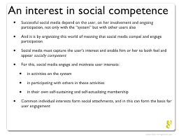Competencies Meaning User Competencies Of Social Media User