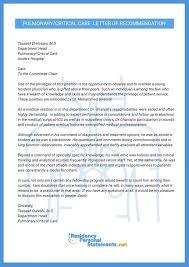Letter Of Recommendation For Medical Doctor Examples Of Letters Recommendations Sample Letter Recommendation For
