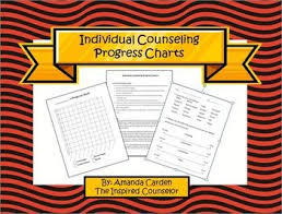 Individual Counseling Progress Chart Middle School