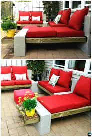 ideas for patio furniture. Cheap Patio Furniture Ideas Outdoor Cinder Block Lounge Concrete Projects Garden And For B
