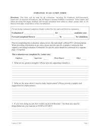 Degree Appraisal A Feedback Form Sample Employee Examples On ...