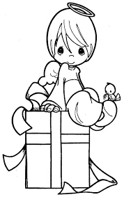 Precious Moments Christmas Coloring Pages Precious Moments Christmas
