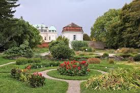 vienna botanical gardens stock photo