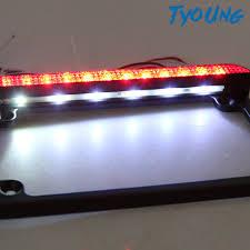 Đèn Led Chiếu Biển Số Xe Máy Bằng Nhôm Màu Đen 12v Cho Yamaha chính hãng  335,000đ
