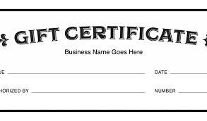 Custom Gift Certificate Templates Free Custom Gift Certificate Template Free Download Gift