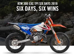 2018 ktm 300 exc. interesting 2018 ktm 300 exc tpi six days wins 2018 for ktm exc t