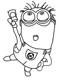 Small Picture Jerry Dance The Minion Coloring Page Kleurplaten Minions