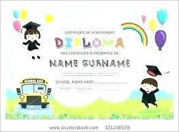 free preschool certificates editable kindergarten graduation certificates printable