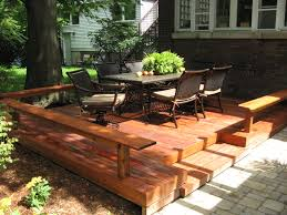 deck vs patio what is best for you huffpost 2017 cost to build