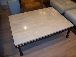 limestone coffee table bed shower elegant travertine