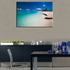 1 panel tree painting landscape oil painting for living room decor diy canvas wall picture ocean
