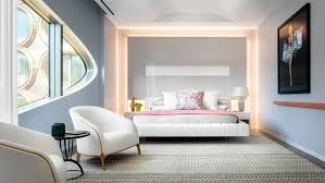 Model Apartments Offer A Taste Of Life Inside Zaha Hadids New - Nice apartment building interior