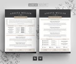 Modern Resumes Stunning Modern Resume Template Lila Resume Templates Creative Market