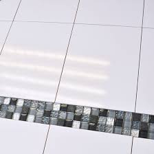 white bathroom tiles. Exellent Bathroom 25x33cm Flat White Gloss Wall Tile 5225  For Bathroom Tiles L