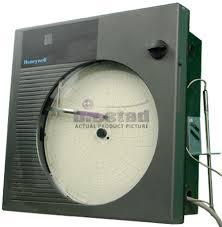 Honeywell Chart Recorder Honeywell Dr4200 7 Day Temperature Chart Recorder W Probe