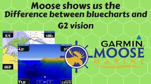 Garmin Marine Bluecharts Aus Nz And G2 Vision Comparison Moose Marine