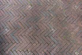 Herringbone Pattern Pavers Magnificent Pavers Laid From Gray Concrete Bricks In A Herringbone Pattern