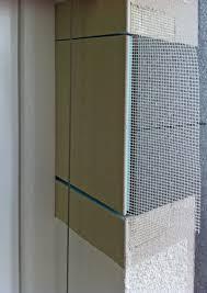Vereinfachter Fensteranschluss Bauhandwerk
