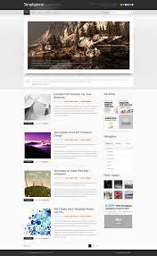 Blog Website Templates Inspiration Simple Personal Blog Css X Web Templates Website Templates