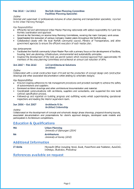 Resume Examples Architect Architect Cv Example Writing Guide Get Noticed By Employers