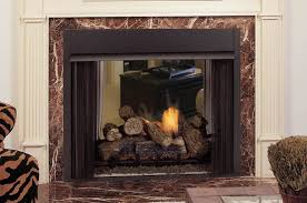 vent free clean face see thru fireplace