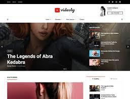 Wordpress Movie Theme 27 Best Video Wordpress Themes 2019 Athemes