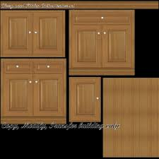 It tends to have red undertones but it could range in color from deep brown to pale yellow. Second Life Marketplace Kitchen Cabinet Cherry Wood Light