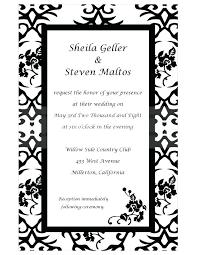 Blank Wedding Invitation Designs Blank Wedding Invitation Designs ...