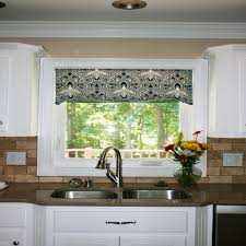 For Kitchen Windows Wonderful Kitchen Window Valances Window Treatments