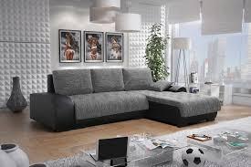 Sofa Leon 6 L Couchgarnitur Couch Sofagarnitur
