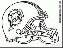 Nfl Football Coloring Pages Cougars Helmet With Coloring Pages