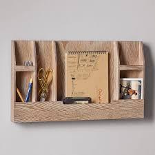 wooden wall organizer