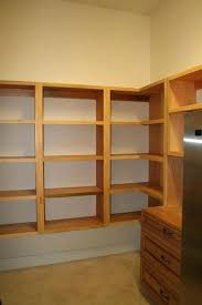 build pantry shelves custom closet