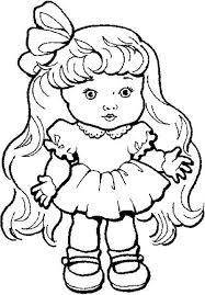 Doll Coloring Pages Coloring Pages Mcoloring 4057 ...