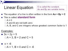 2 linear equation examples