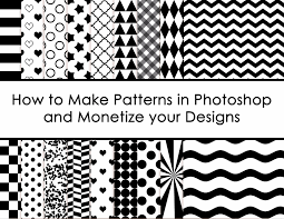 How To Make A Pattern Design How To Create Patterns In Photoshop And Monetize Your