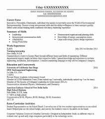 Resume Objective For Internship Training Internship Objectives Resume Objective Livecareer