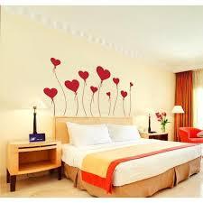 multi printed designer bedroom wall