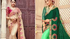 Designer Saree 2019 Designer Wedding And Party Wear Saree Lakshmipati Saree Designer Saree 2019