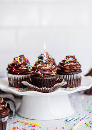 Easy Chocolate Birthday Cupcakes Fork Knife Swoon