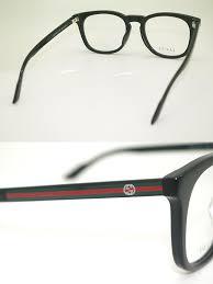 gucci glasses black gucci eyeglass frames glasses gg 1122j 807 branded mens amp