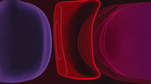 Wallpaper iPhone 11, red, dark, HD ...