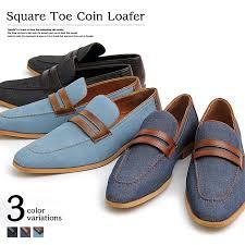 seasonal fashion of bitter men loafer shoes penny loafers penny loafer denim long nose low