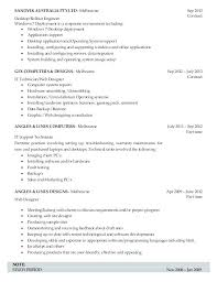 Computer Support Technician Resume Support Technician Cover Letter