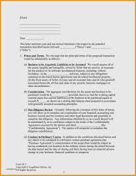 Luxury Business Letter Of Intent | weeklyplanner.website